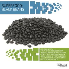Did you know a single, one-cup serving of black beans has nearly 15 grams of fiber & 15 grams of protein? Learn more about this #superfood.