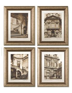 Wonderful architectural prints...