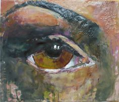 25 Creative Examples of Encaustic Painting - Bored Art Creative Studio, Creative Art, Mixed Media Journal, Encaustic Painting, Gorgeous Eyes, Mark Making, Art Journal Inspiration, Cool Art, Awesome Art