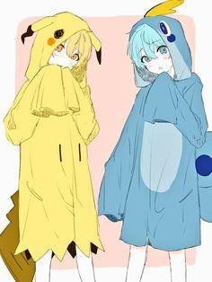 Anime Neko, Kawaii Anime, Fanarts Anime, Anime Characters, Anime Art, Anime Sisters, Anime Boy Zeichnung, Kawaii Faces, Anime Best Friends