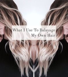 6 tips for giving yourself incredible at home hair highlights hair learn how to do the beloved balayage technique on yourself ill show you solutioingenieria Images