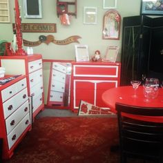 Red. {} #red #restoration #refinished #furniture #imperialvalley #ELCENTRO #holtville #brawley #calexico #paintedfurniture #vintage #realwood #wood #heber #calipat #palmsprings #sandiego #yuma #upcycledfurniture #upcycled #dresser #furnituremakeover #repurposed  #repurpose #forsale #shabbychic #beachy #modern #antique #imperial #nightlife #SanDiego Check more at…