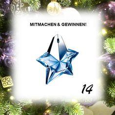 MITMACHEN & GEWINNEN:  Im 14. Türchen wartet auf euch 1 x THIERRY MUGLER #Angel (50 ml EdP) im Wert von ca. 96 €.  Infos unter http://wissen-ist-mehr.de