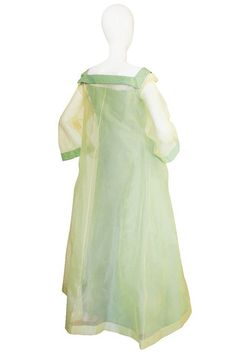 1950s Couture Nina Ricci Silk Moire Gown & Evening Coat