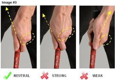 Proper Golf Grip | Golf Tips | Pinterest