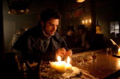 Dominic Cooper in Abraham Lincoln: Vampire Hunter