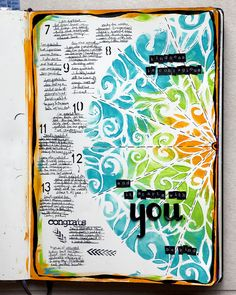 Here's this week's gratitudes and celebrations: Before: it says: kindness is contagious and it starts with you. be kind. GREAT ideas on this website for art journaling...