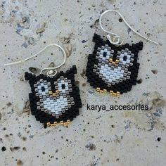 30 likes, 1 Comments - ( . Beaded Bracelet Patterns, Beading Patterns, Beaded Bracelets, Free Seed Bead Patterns, Beaded Earrings Native, Owl Earrings, Seed Bead Jewelry, Women's Jewelry, Bead Jewelry