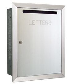 """$134.00. Custom engraving. Size:  Collection Box Overall  19-1/8""""H x 15-1/16""""W x 6""""D  Collection Box Wall Cut  17-3/4""""H x 13-9/16""""W x 6-3/4""""D  Letter Slot  3/4""""H x 10""""W  Weight:  21 lbs."""