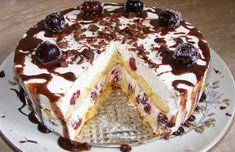 Nepečená piškótová torta s tou najjednoduchšou prípravou a neodolateľnou chuťou! Neostane žiaden kúsok | Báječný život