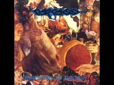 by Gruesome Graphics Inc. Band: Carcass Album: Symphonies of Sickness Year: 1989 Genre: Grindcore/Death Metal Listen Music Album Covers, Music Albums, Death Metal, Extreme Metal, Heavy Rock, Metal Albums, Festivals Around The World, Band Pictures, Metal Artwork