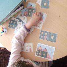 huizenspel / jeu des maisons