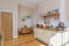 Image result for dining kitchen tenement Kitchen Dining, Kitchen Cabinets, New Homes, Glasgow, Edinburgh, Kitchen Ideas, Interior Design, House, Kitchens