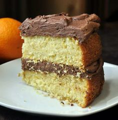 Orange Velvet Cake with Chocolate Buttercream Frosting - this great cake has been a very popular recipe on Rock Recipes because of its moist texture and burst of orange flavor baked right in. Delicious with either chocolate or vanilla frosting.