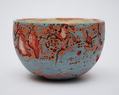 Ceramic Pottery, Pottery Art, Chawan, Tea Bowls, Clay Art, Mosaic Glass, Glaze, Decorative Bowls, Arts And Crafts