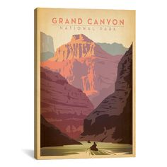 iCanvas 'Grand Canyon National Park' by Anderson Design Group Vintage…
