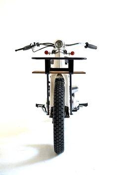 Deus Sea Sider: Honda C70 Surf Cub Custom Bobber, Custom Bikes, Yamaha Cafe Racer, Motorised Bike, Honda Cub, Motorcycle Clubs, Ex Machina, Mode Of Transport, Hot Bikes
