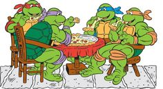 Dude, they just killed off one of the Teenage Mutant Ninja Turtles ...