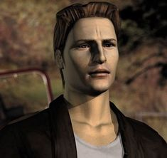 Silent Hill - Harry Mason- The first Silent Hill will always be my favorite! Silent Hill Series, Silent Hill 1, Video Game Characters, Fictional Characters, Tv Tropes, Pantomime, Old Video, Anime, Dark Art