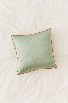 Satin Quilted Pillow