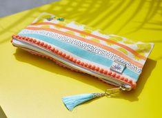 Creations - Artemio Zip Around Wallet, Coin Purse, Purses, Printed Ribbon, Stencils, Clutch Bags, Handbags, Purses And Handbags, Bags