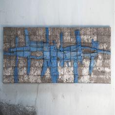 Stan Bitters Big Blue mural at Heath SF.