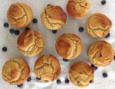 GF Blueberry Muffins fromourhideaway.com