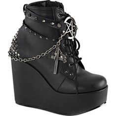 Demonia Gothic Boots and Shoes for sale with great selection at great prices. Gothic shoes, Platform boots, biker boots, combat boots, Victorian & Steampunk shoes for men and women. Black Lace Up Boots, Studded Ankle Boots, Platform Ankle Boots, Lace Up Ankle Boots, Wedge Boots, High Heel Boots, Leather Ankle Boots, Ankle Booties, Heeled Boots