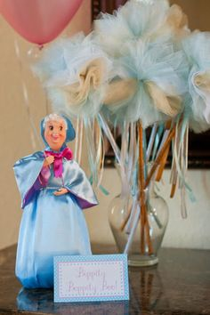 Cinderella Party - Bippity Boppity Boo (tulle wands)