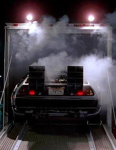 41 ideas back to the future cars marty mcfly Dmc Delorean, Delorean Time Machine, The Time Machine, Time Out, Back In Time, Marty Mcfly, The Future Movie, Future Car, My Dream Car