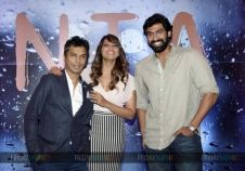 Bipasha Basu and Rana Daggubati at the launch of Vikram Phadnis' film