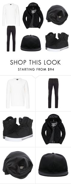"""""""Untitled #296"""" by laura-repczuk ❤ liked on Polyvore featuring Kent & Curwen, Gucci, Supra, Superdry, Fingers Crossed, Givenchy, men's fashion and menswear"""