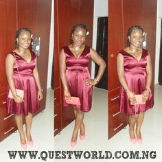 #Monday #dress #clutch #shoes #party www.questworld.com.ng Nationwide Delivery Pay on delivery within Lagos