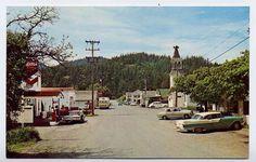 WA Eastsound Chrome Street Scene Orcas Island Cars Gas Station by Ellis Orcas Island, San Juan Islands, Gas Station, Museums, 1950s, Beautiful Pictures, Chrome, Street View, Washington