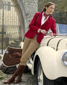 Image about classy in 🐎Classic Equestrian Chic Style🐎 by Tracey M. Equestrian Chic, Equestrian Outfits, Equestrian Fashion, Mode Outfits, Fashion Outfits, Womens Fashion, English Country Fashion, Moda Country, Country Wear