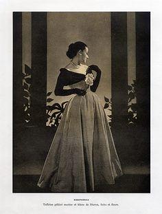 Balenciaga 1947 Evening Gown Staron