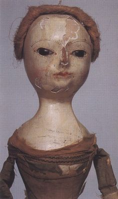 .early wooden doll