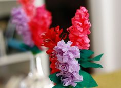Friday Flower: The Paper Hyacinth - Aunt Peaches