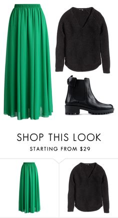 """4/27"" by jessica-rose-lentz on Polyvore featuring Chicwish, H&M and RED Valentino"