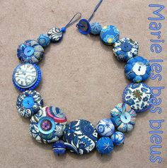 Gorgeous use of different blues, and items~