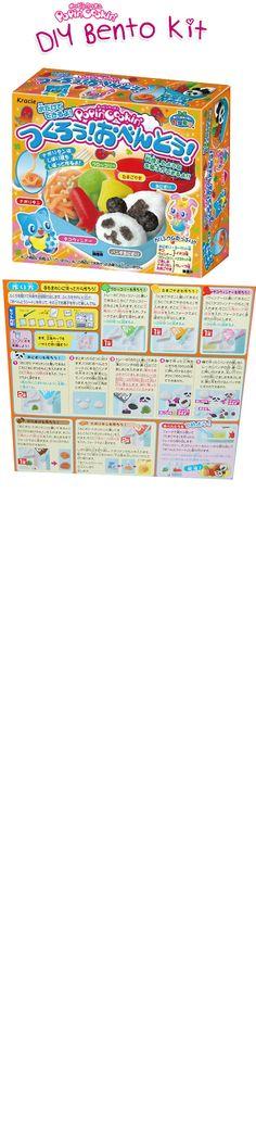 Popin Cookin Bento English Instructions