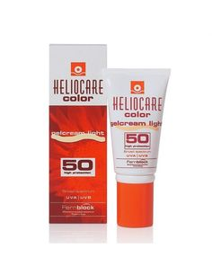 Heliocare Colour Gelcream Light SPF 50 Use an SPF50 daily to prevent wrinkles and skin cancer.