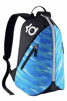 cf1c37c5d8bb Nike KD VIII 8 Max Air Backpack Black Blue BA5093 011 Youth New  Nike