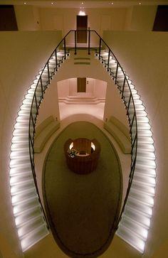 Centre Gildo Pastor / Monaco / 1996 #stairs #beautiful #lights