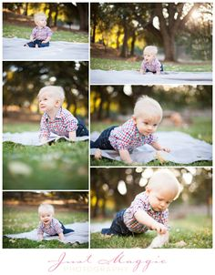 Nine Month Old Baby's First Year Portraits by Just Maggie Photography - Los Angles Newborn & Baby Photographer