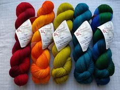 Delicious Wollmeise German hand dyed yarn