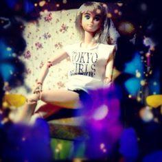 キサラさん、テライケメンで惚れる/// #Girlish #Culture #japan #dollphotography #doll #instadoll  #dolly #リカちゃん #licca #takara #liccachan #licca_chan #liccadoll #jenny #jennyfriend #kisara #キサラ