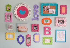 Quadros para decorar o quarto do bebê