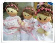 Kit bonecas daminhas