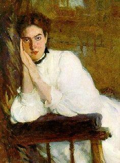 The Dreamer - Cecilia Beaux 1894  American 1855-1942